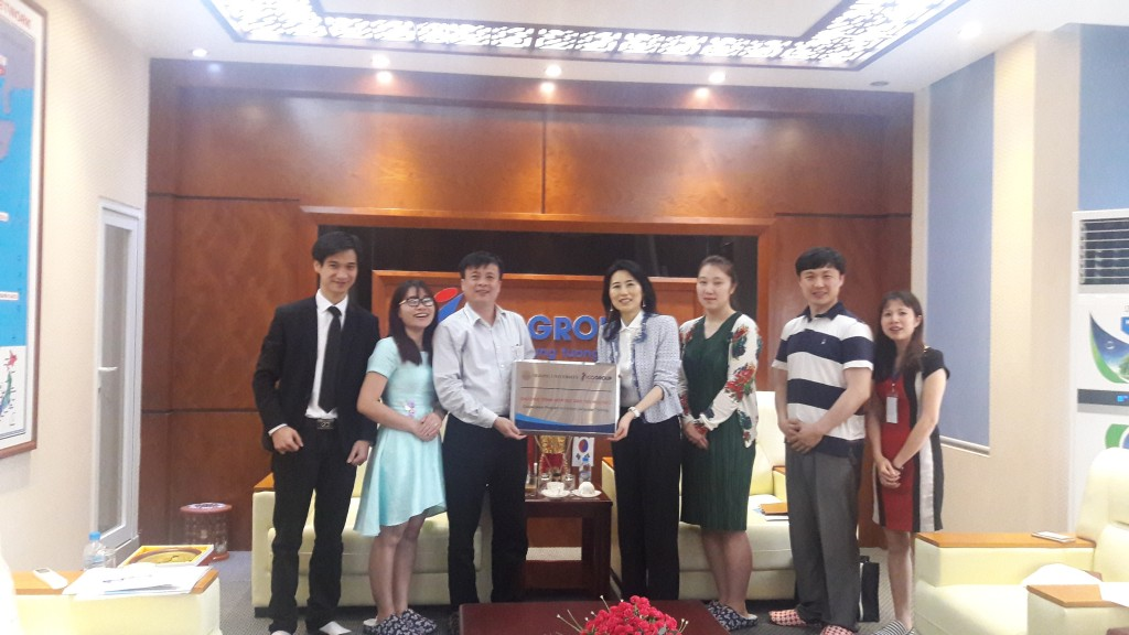 Đối tác Hàn Quốcsang thăm và làm việc chính thức với ICOGroup