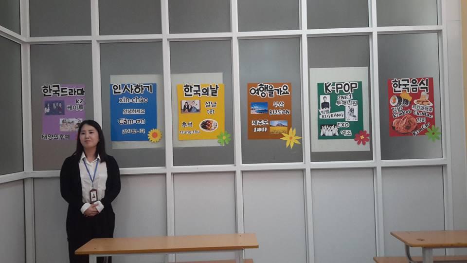 Một số hình ảnh trang trí lớp học ấn tượng của các bạn học viên ICOGroup