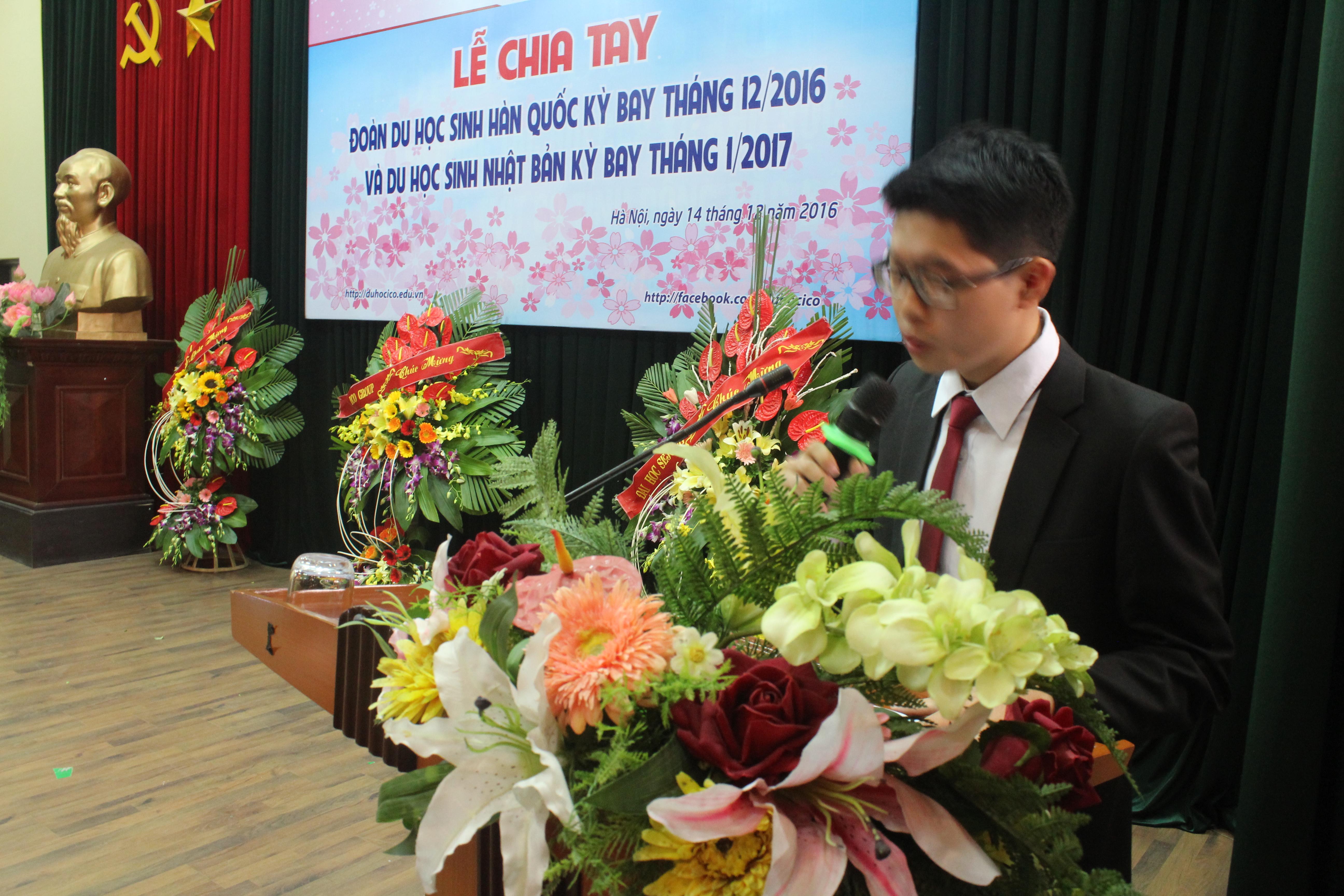 Hình ảnh lễ chia tay DHS Hàn Quốc – ICO ...