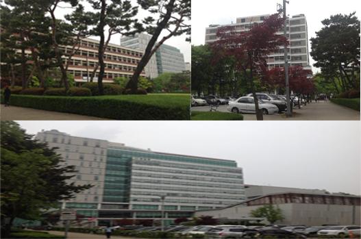 Các khoa ngành của trường Đại học Ajou