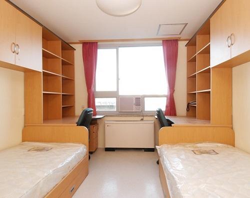 Kí túc xá là sự lựa chọn phổ biến của hầu hết du học sinh Hàn Quốc
