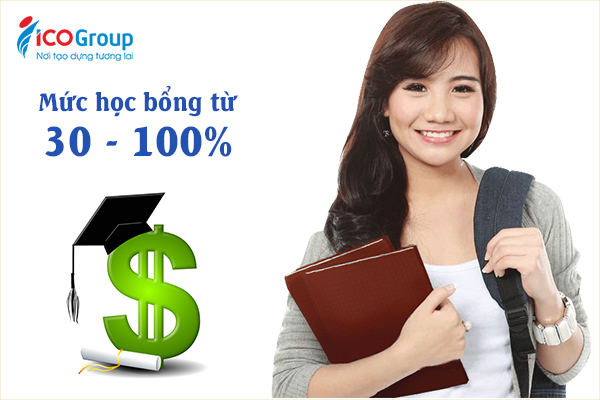 Du học sinh Việt Nam có cơ hội nhận học bổng từ 30 - 100% khi du học Hàn Quốc.