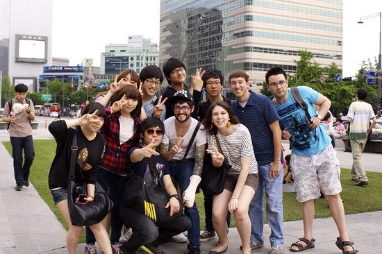 Kết bạn với người Hàn Quốc khi du học