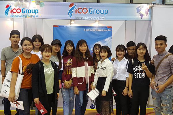 Du học sinh của ICOGroup được nhận hỗ trợ trước, trong và sau khi du học.