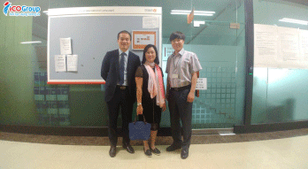 Đại diện Ban lãnh đạo Du học ICOGroup có chuyến thăm & làm việc tại Hàn Quốc