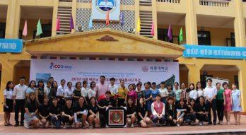 Sinh viên đại học Sejong sang giao lưu với du học sinh ICOGroup tại Việt Nam