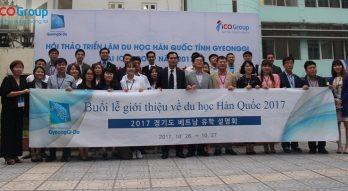 Triển lãm du học hàn quốc 2017 tỉnh Gyeonggi tại ICOGroup