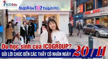 Học viên ICOGroup khắp thế giới gửi ngàn lời chúc tới thầy cô giáo nhân ngày 20/11