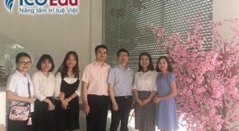 Trường đại học Ajou phỏng vấn dhs ICOGroup