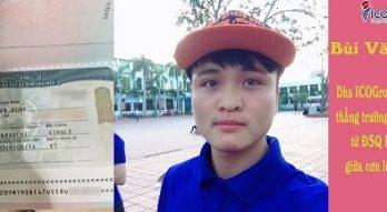"""Du học sinh ICOGroup """"ẵm"""" trọn visa du học trường ĐH Kyonggi giữa cơn lốc trượt visa Hàn từ đại sứ quán"""