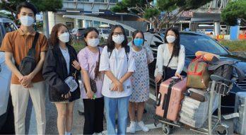 Đoàn du học sinh ICOGroup nhập học trường Myongji và Yongin Songdam