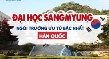 TRƯỜNG ĐẠI HỌC SANGMYUNG – Ngôi trường ưu tú bậc nhất Hàn Quốc