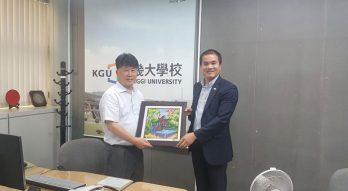 ICO Korea chúc mừng tân viện trưởng Viện giáo dục quốc tế Đại học Kyonggi