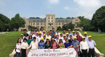 Đoàn công tác của ICOGroup có chuyến thăm & làm việc tại các trường Hàn Quốc