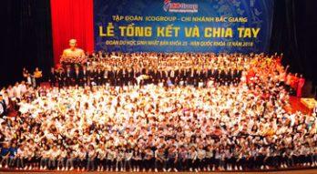 Lễ tôn vinh sự học của ICOGroup chi nhánh Bắc Giang: Lắng đọng, ý nghĩa!