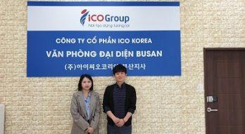 ICO KOREA – Văn phòng đại diện tại Busan chính thức đi vào hoạt động